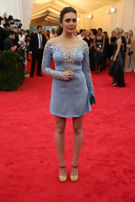 Elizabeth Olsen in Miu Miu...one word..Pasties!