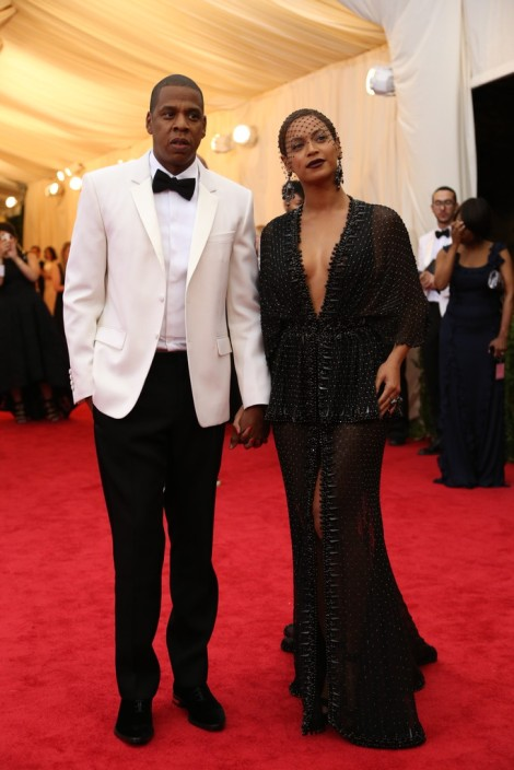 Jay Z and Beyonce Knowles in Givenchy
