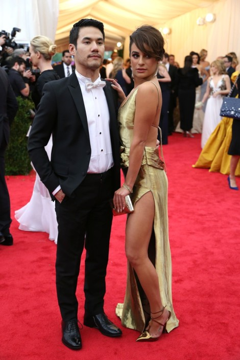 Joseph Altuzarra and Lea Michele