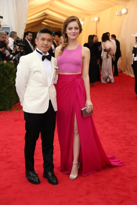 Thakoon and Emma Stone