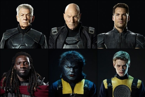 X-Men-portraits