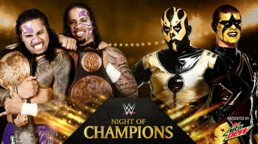 WWE Night Of Champions 2014 - Tag Team Championships Match - The Usos VS Goldust & Stardust