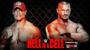 WWE Hell In A Cell 2014 - Hell In A Cell Match - John Cena VS Randy Orton